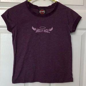 Harley-Davidson Purple Harley Angel Girls T-Shirt